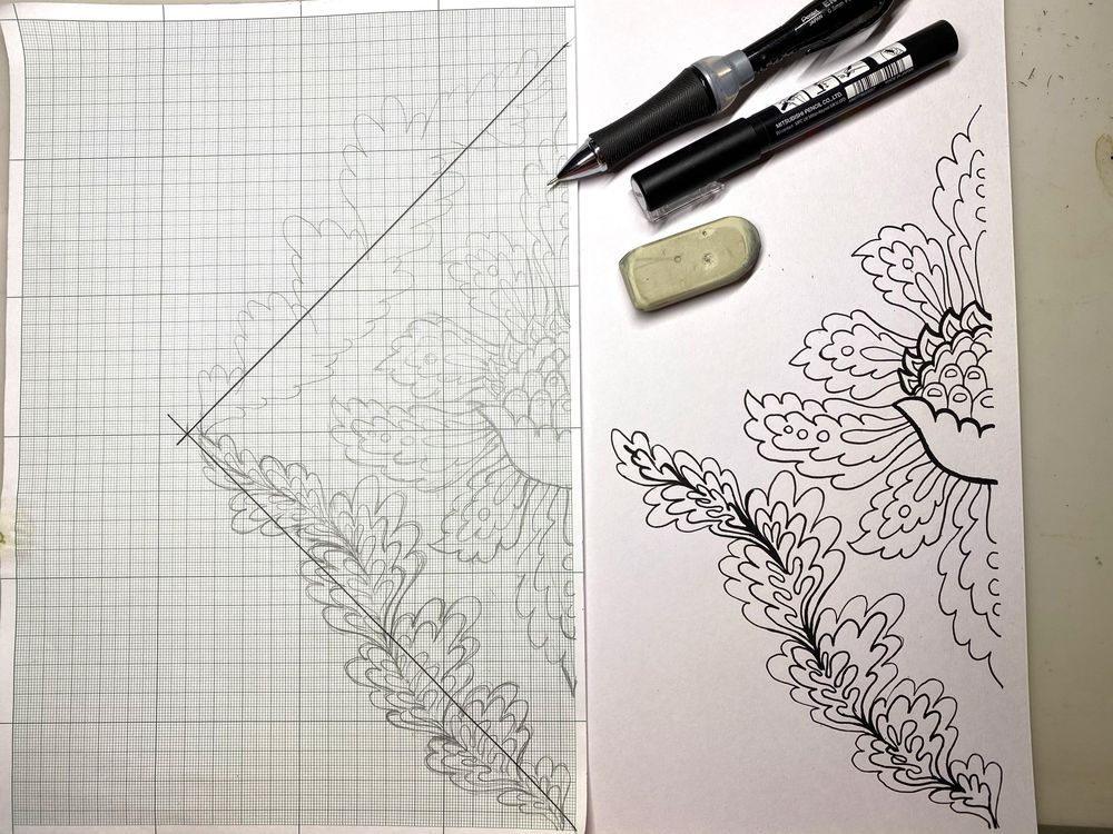 Classic Damask Patterns - image 4 - student project