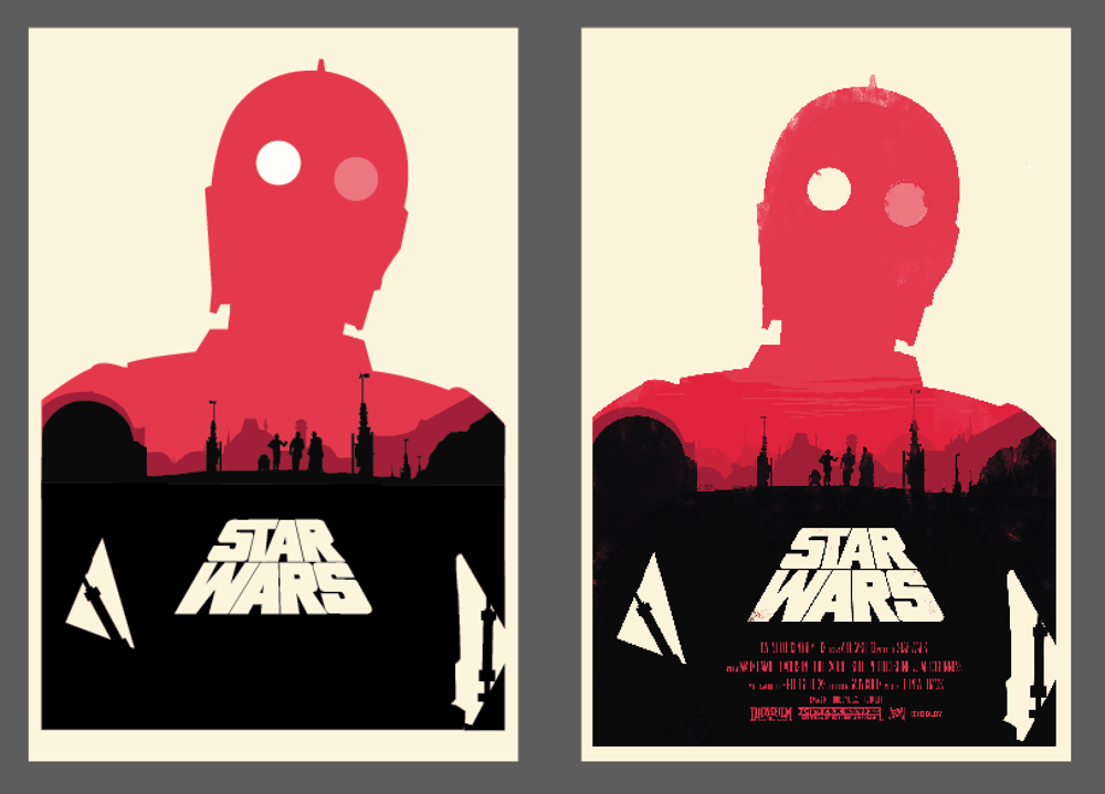 Star Wars Illustrator Project  - image 2 - student project