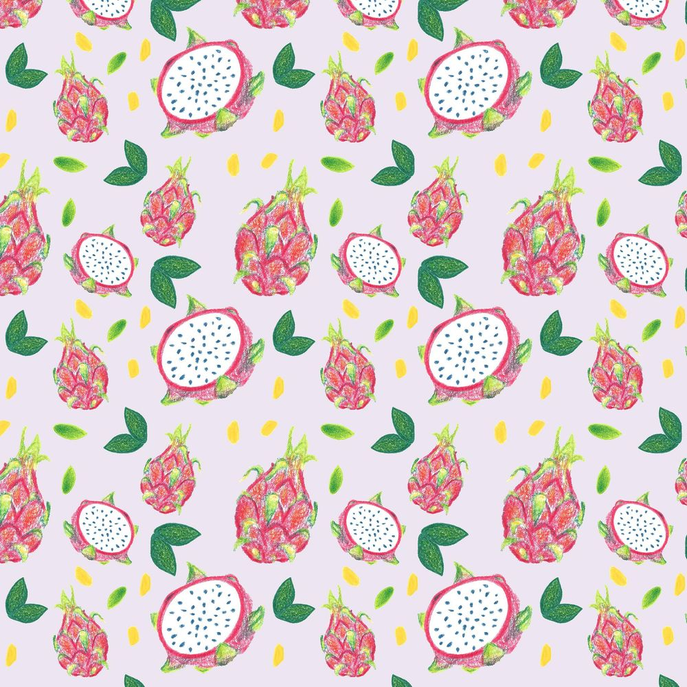 Dragonfruit Pattern + Geometric - image 13 - student project