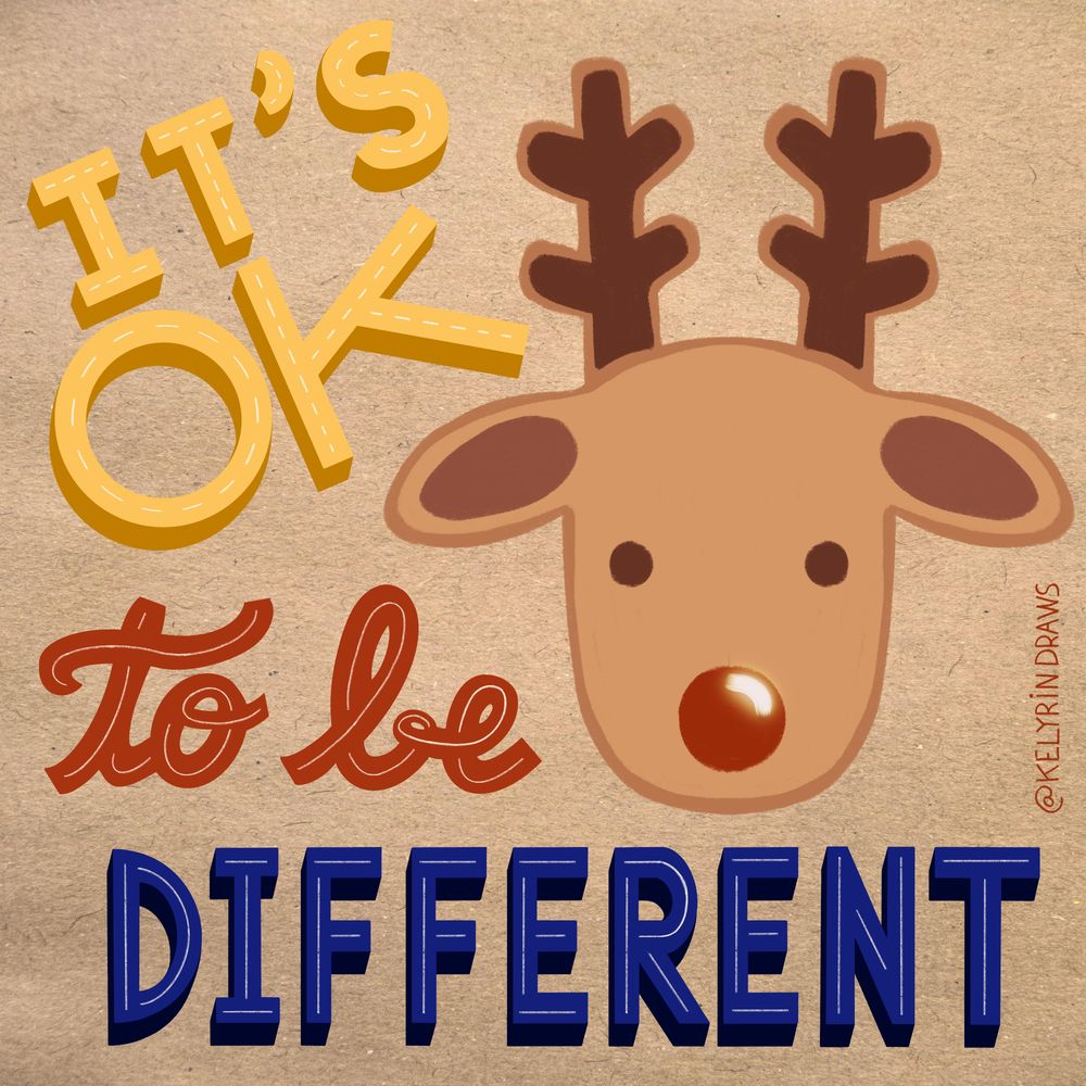 It's ok to be different ! - image 1 - student project