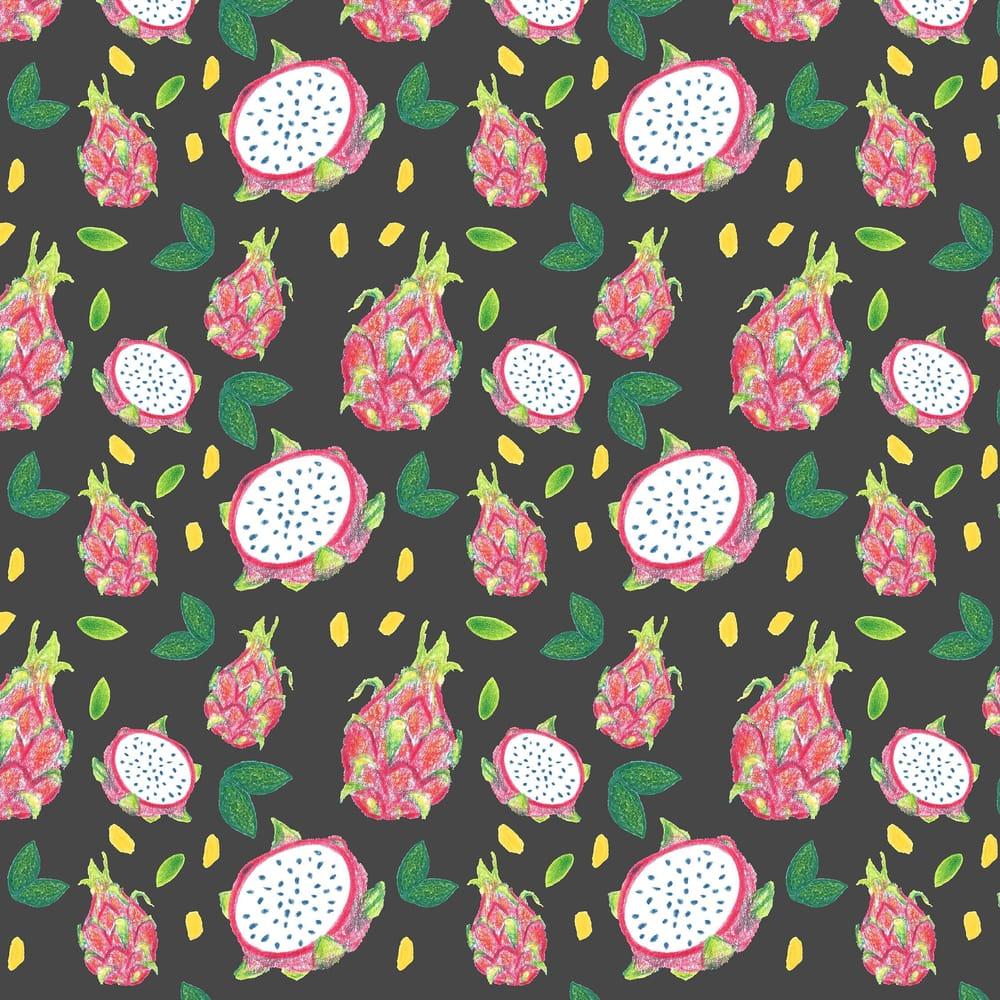 Dragonfruit Pattern + Geometric - image 15 - student project