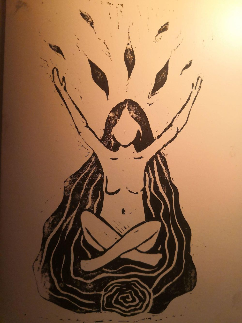 Univ.earth goddess - image 1 - student project