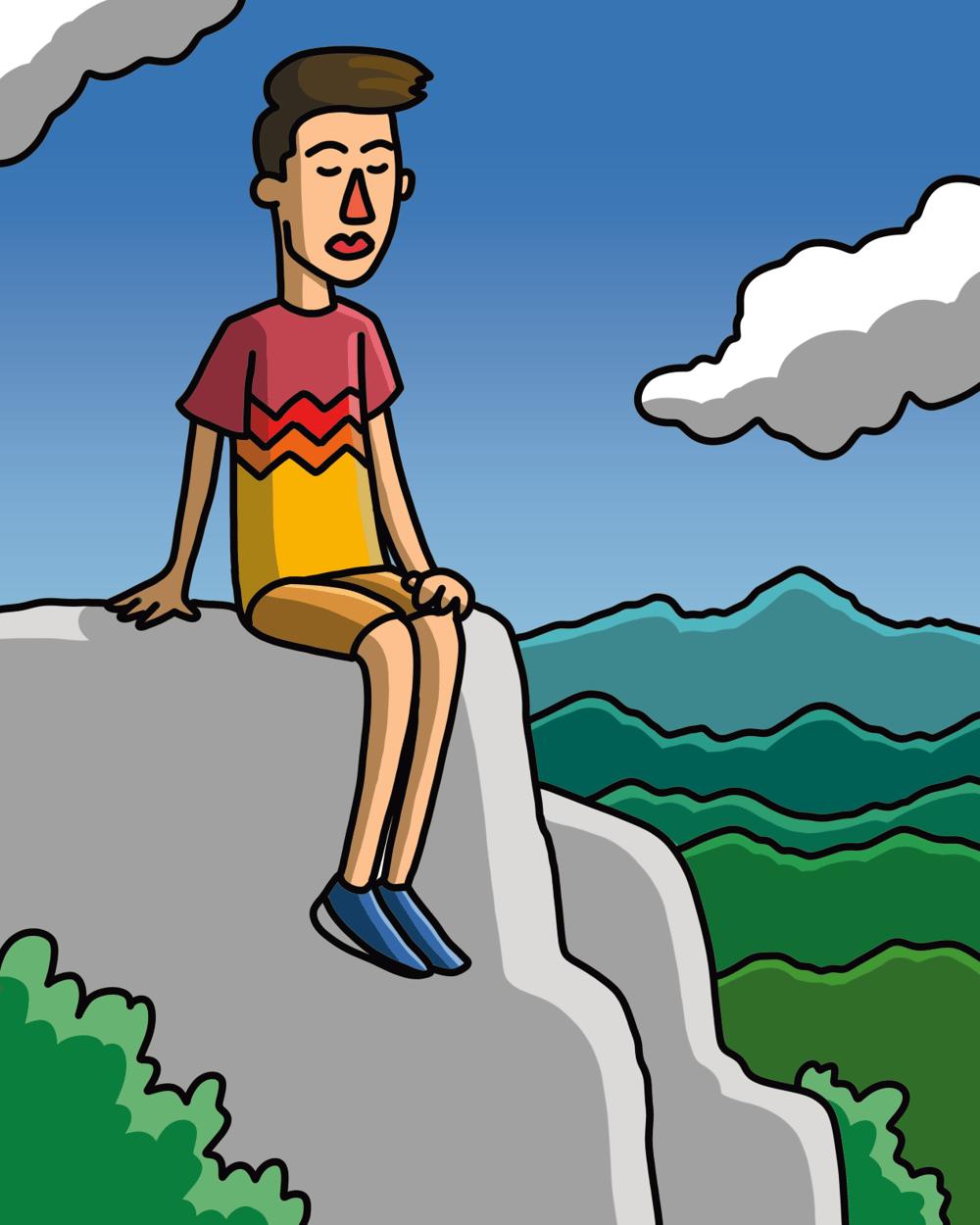 A Traveling Soul - Self Portrait - image 2 - student project
