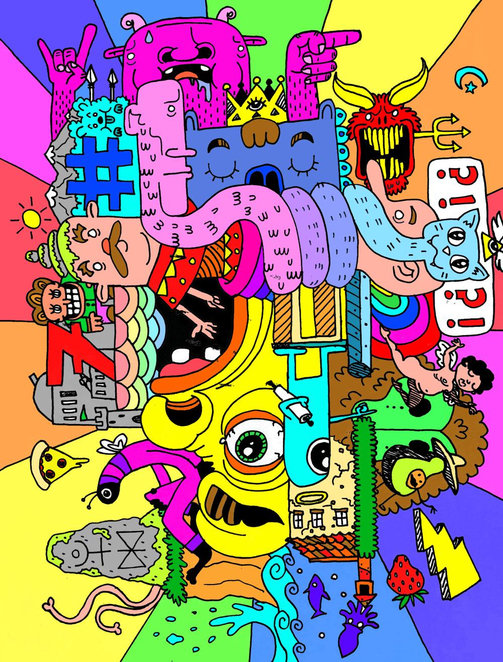 Doodle Mashup - image 2 - student project