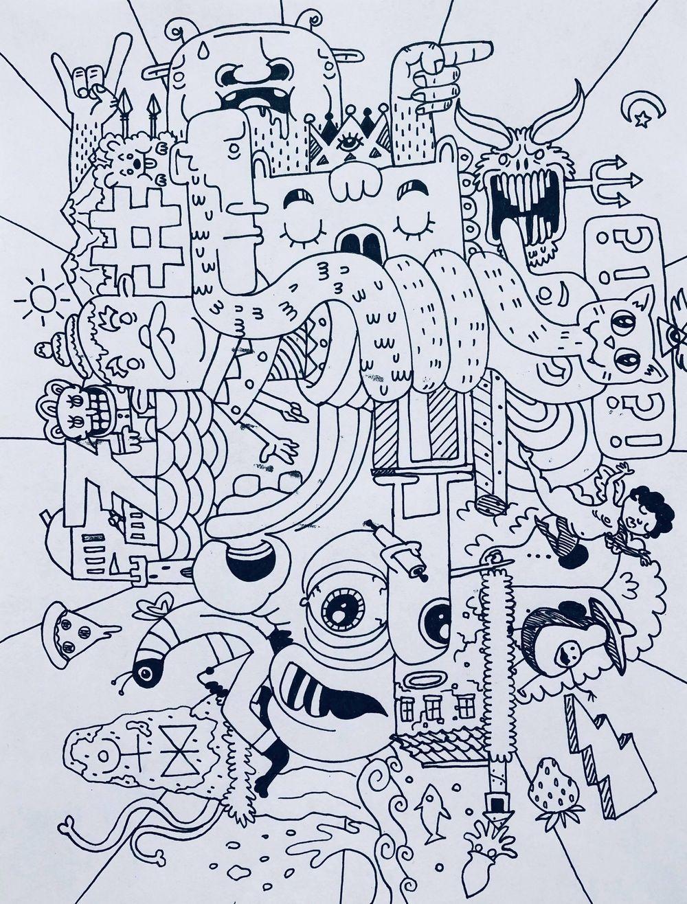Doodle Mashup - image 1 - student project