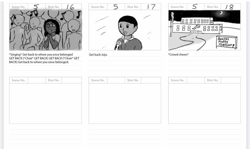 Solo Spotlight Storyboard - image 18 - student project