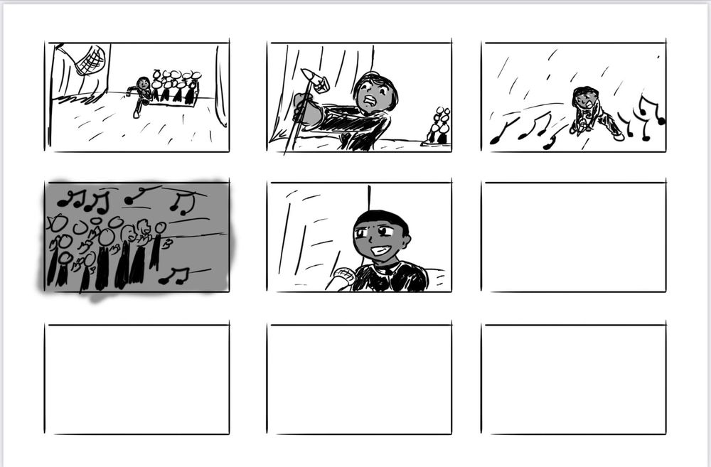 Solo Spotlight Storyboard - image 7 - student project