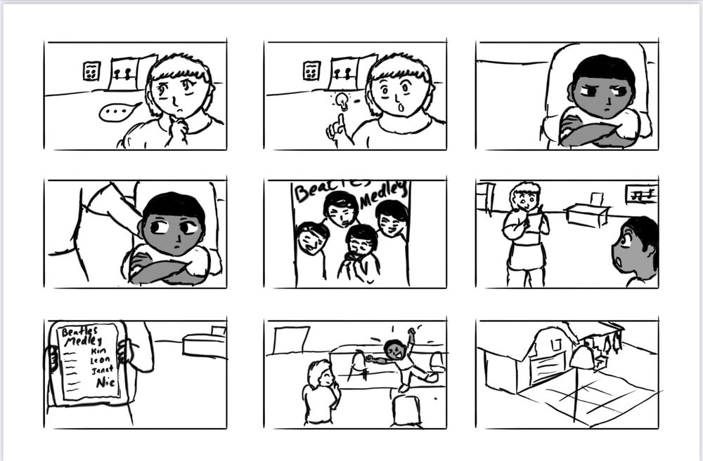 Solo Spotlight Storyboard - image 5 - student project
