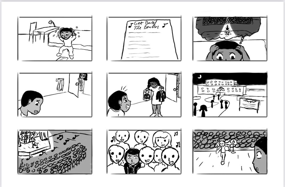 Solo Spotlight Storyboard - image 6 - student project