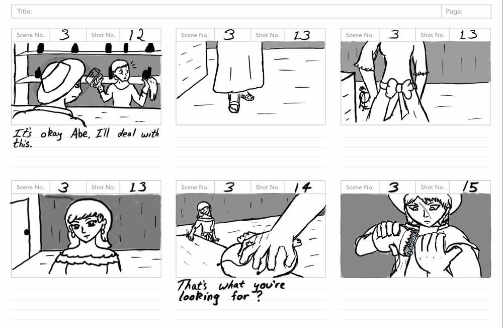 Storyboard Assignment - image 10 - student project