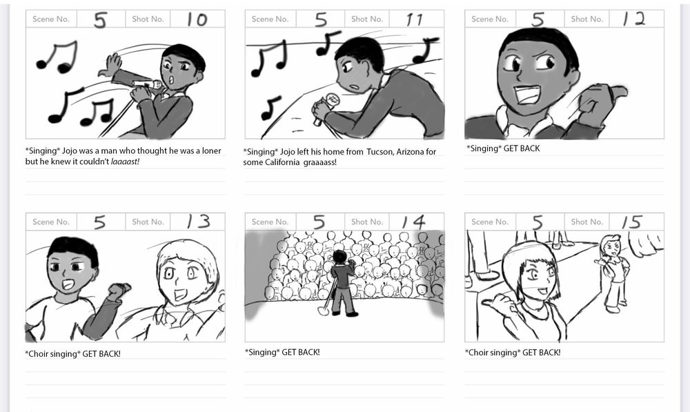 Solo Spotlight Storyboard - image 17 - student project