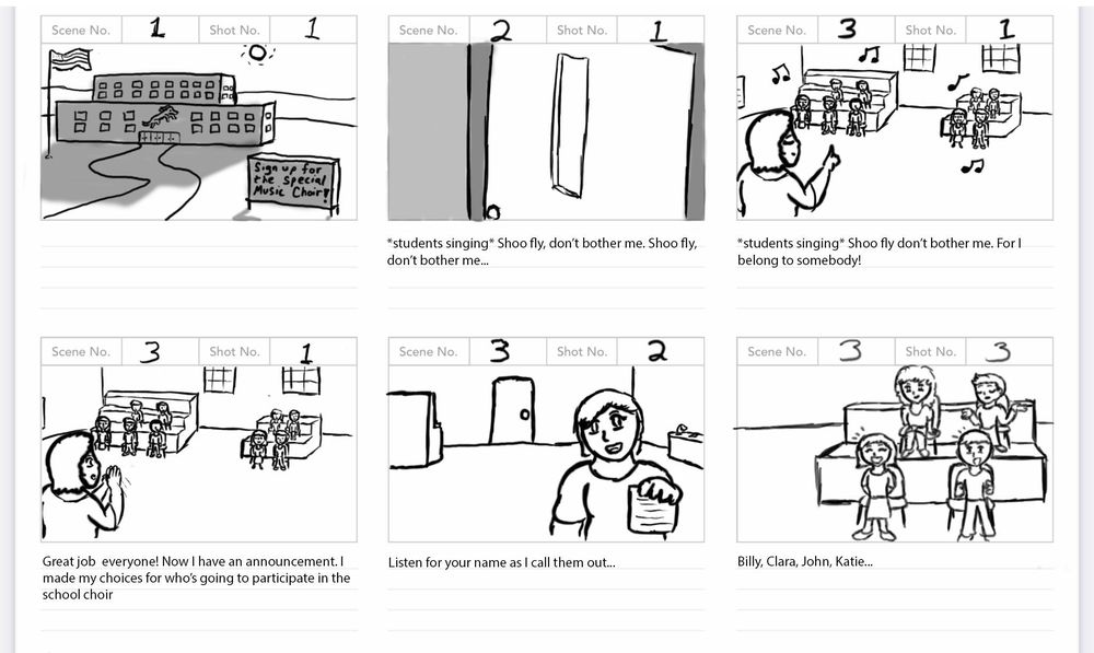 Solo Spotlight Storyboard - image 8 - student project