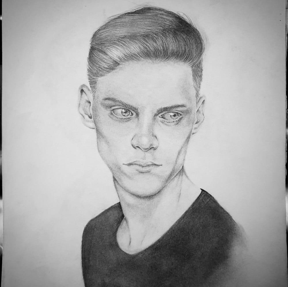 Male Portrait - image 1 - student project