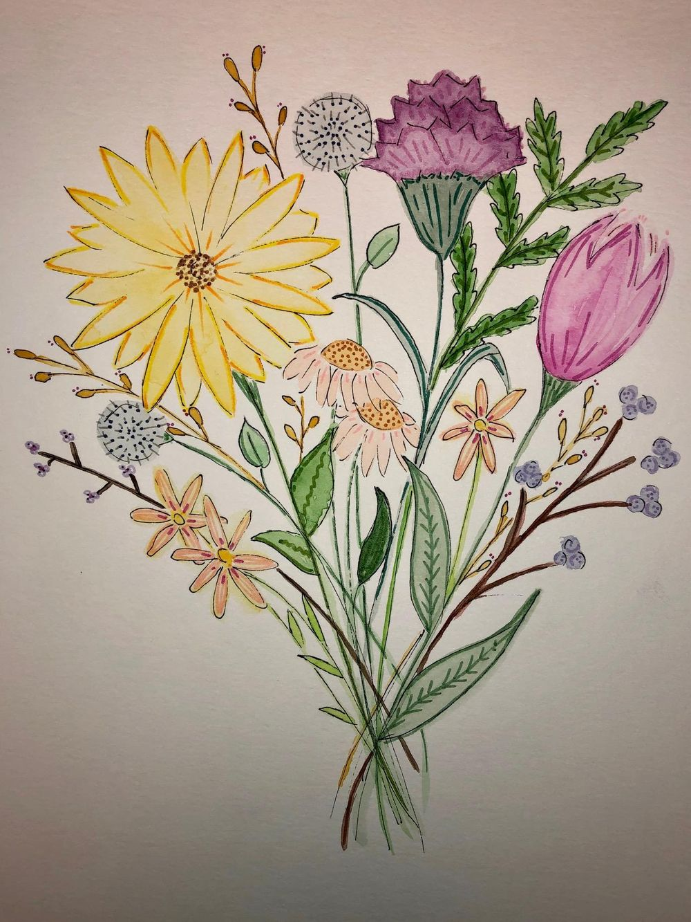 Spring Florals - image 1 - student project