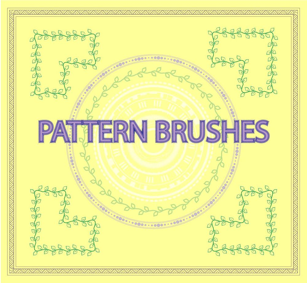 pattern brushes - image 1 - student project