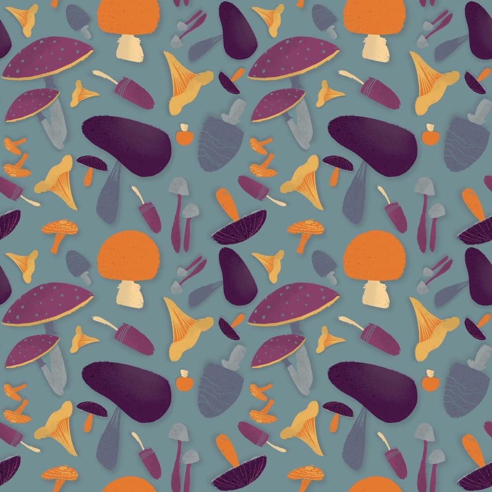 Magic mushrooms - image 1 - student project