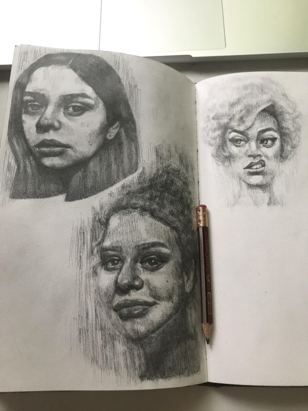 portrait drawings! - image 3 - student project
