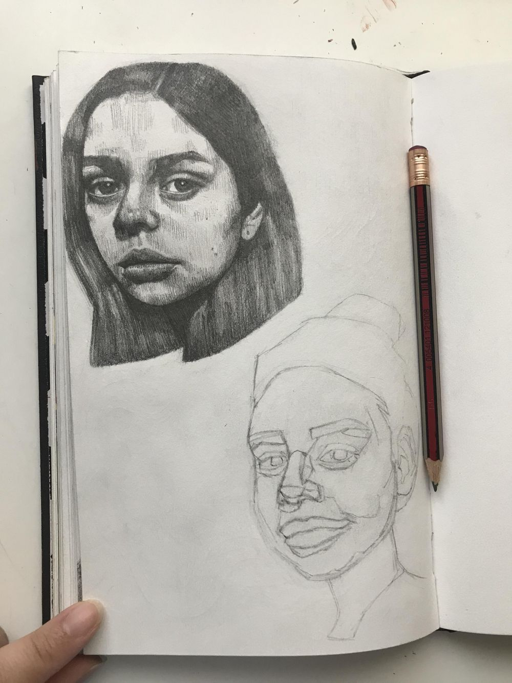 portrait drawings! - image 4 - student project