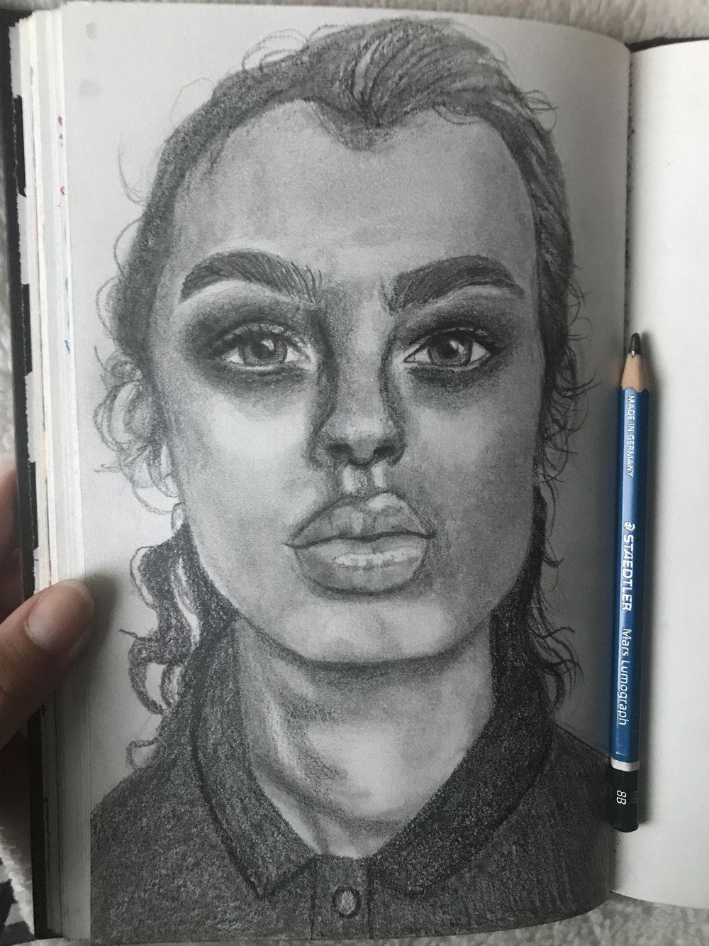 Portrait + sketches! - image 4 - student project