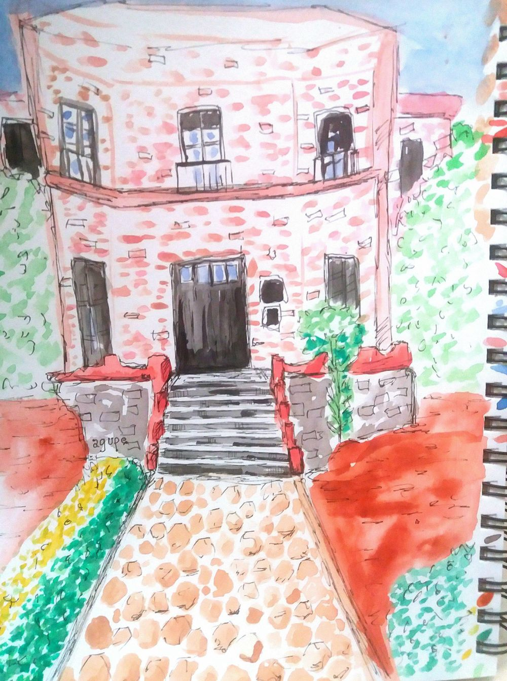 Watercolor Workshop - image 13 - student project