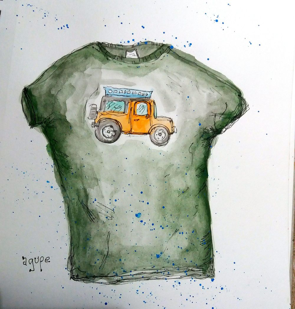 Watercolor Workshop - image 11 - student project