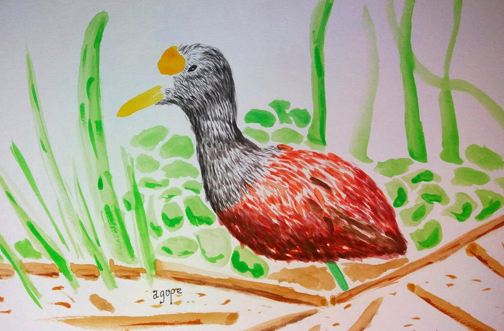 Watercolor Workshop - image 12 - student project