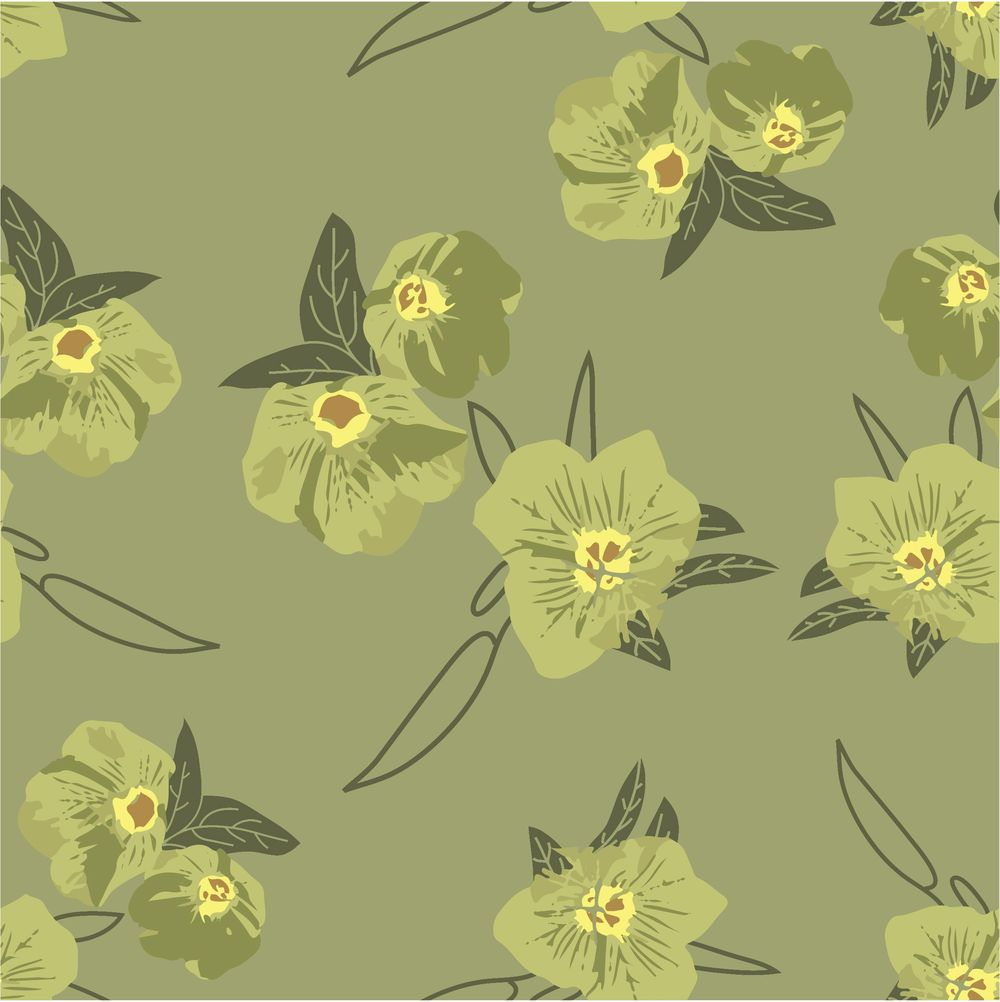 my first floral pattern - image 4 - student project
