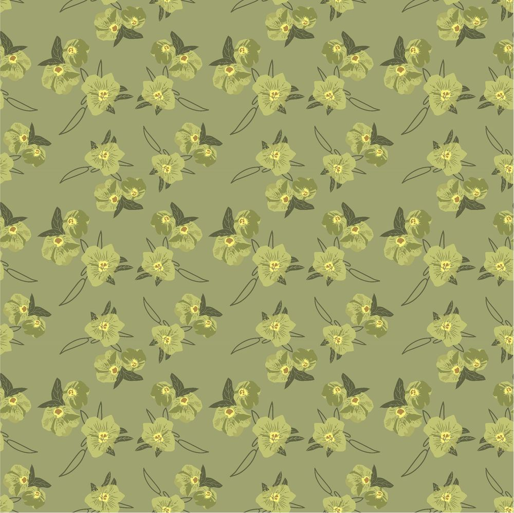 my first floral pattern - image 1 - student project
