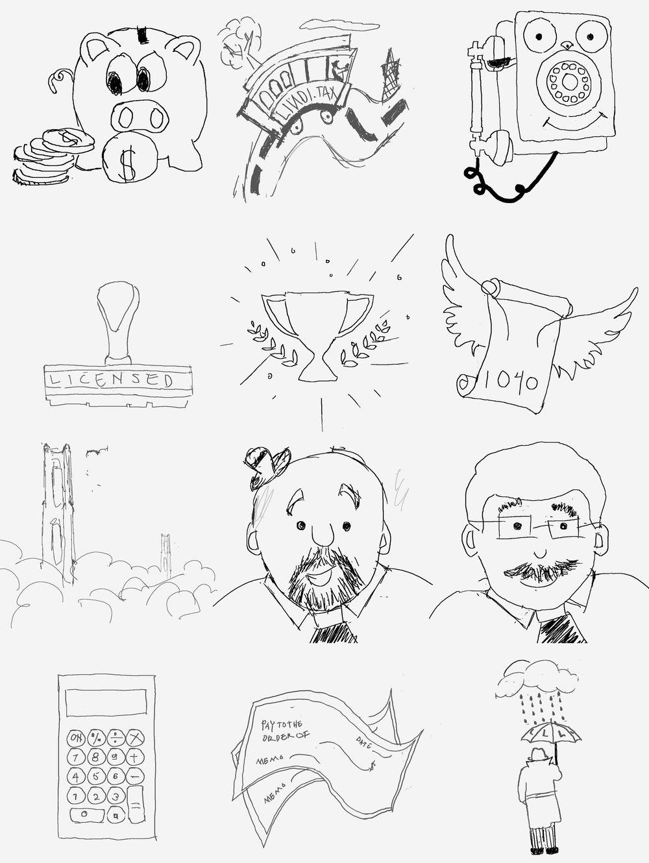 Lindi Tax Website illustration - image 8 - student project