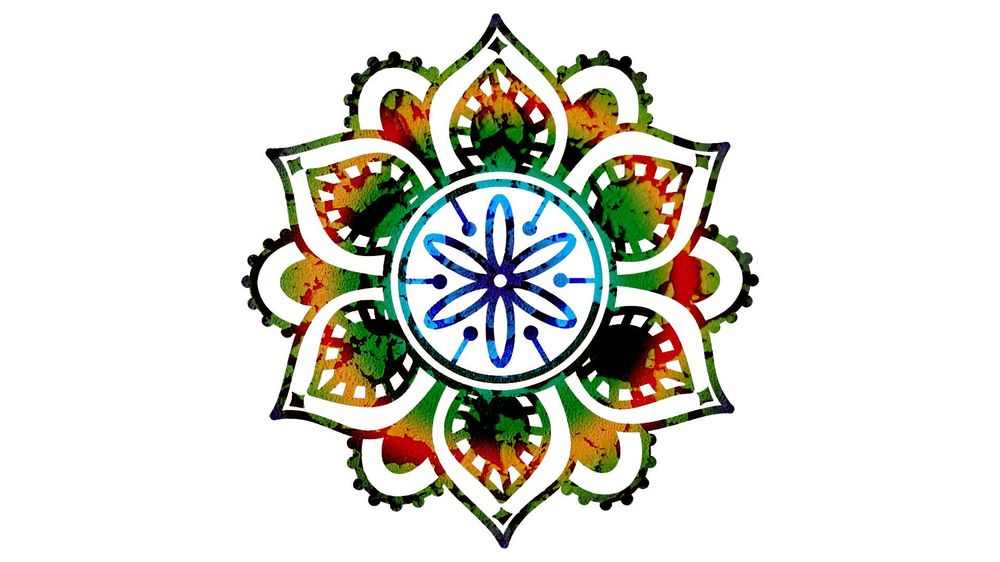 Mandalas in Photoshop - image 1 - student project