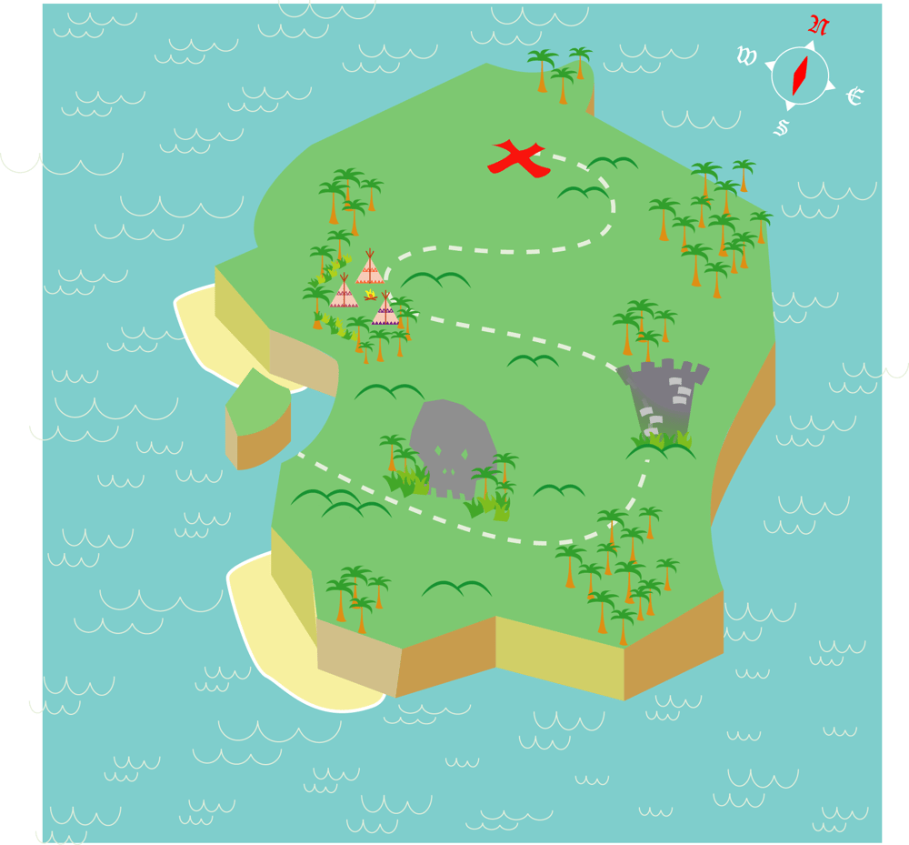 Treasure Map - image 4 - student project