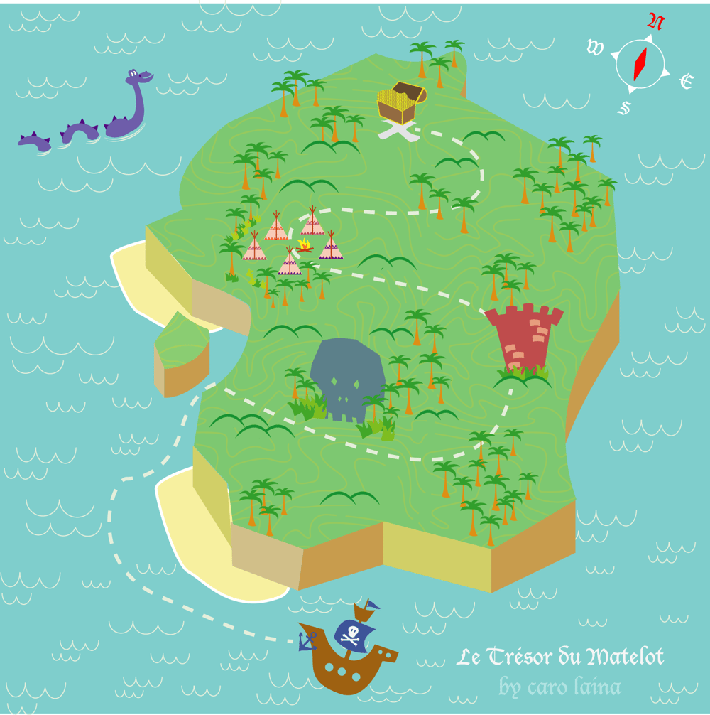 Treasure Map - image 5 - student project