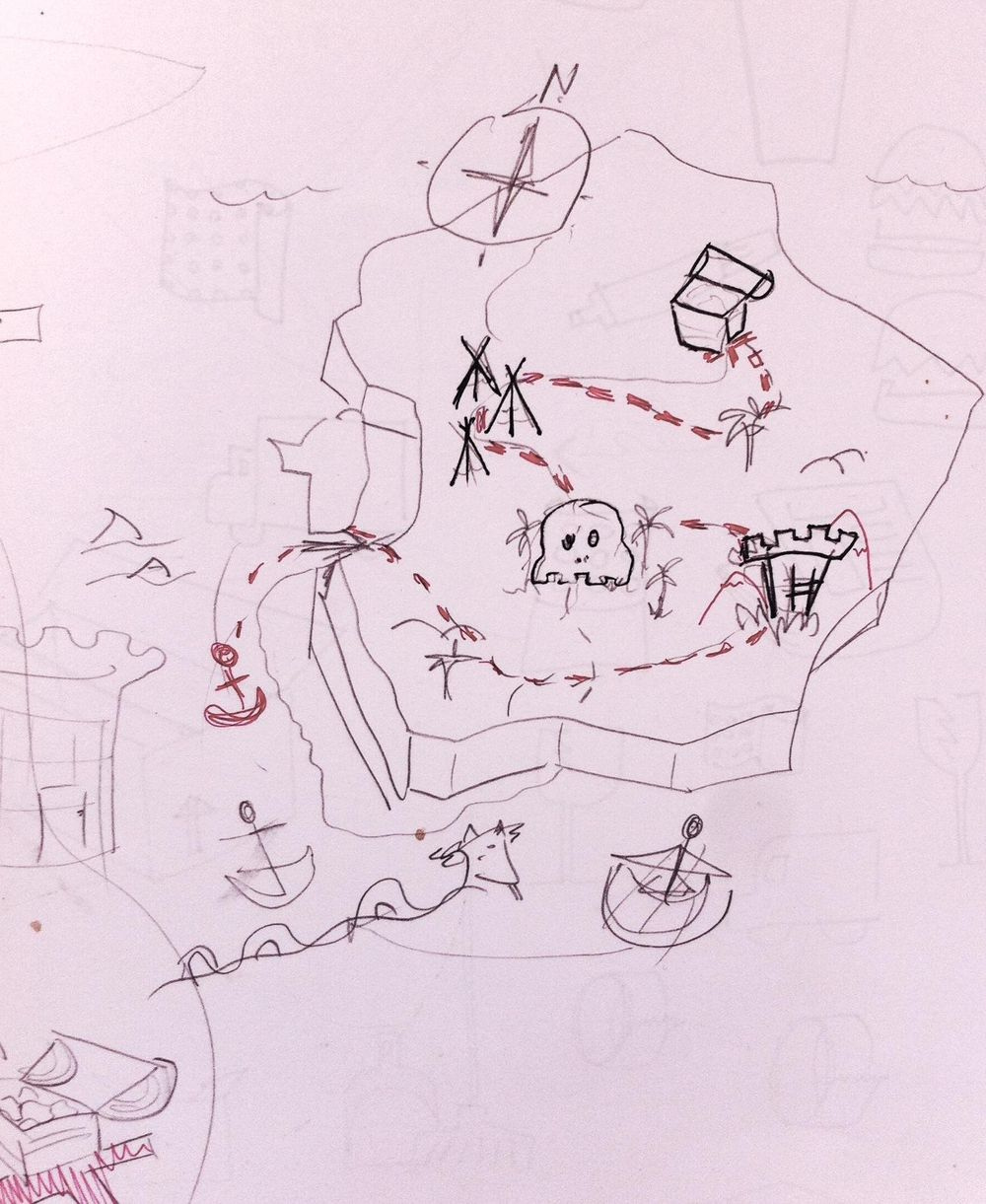 Treasure Map - image 1 - student project