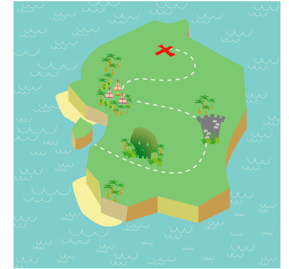 Treasure Map - image 3 - student project