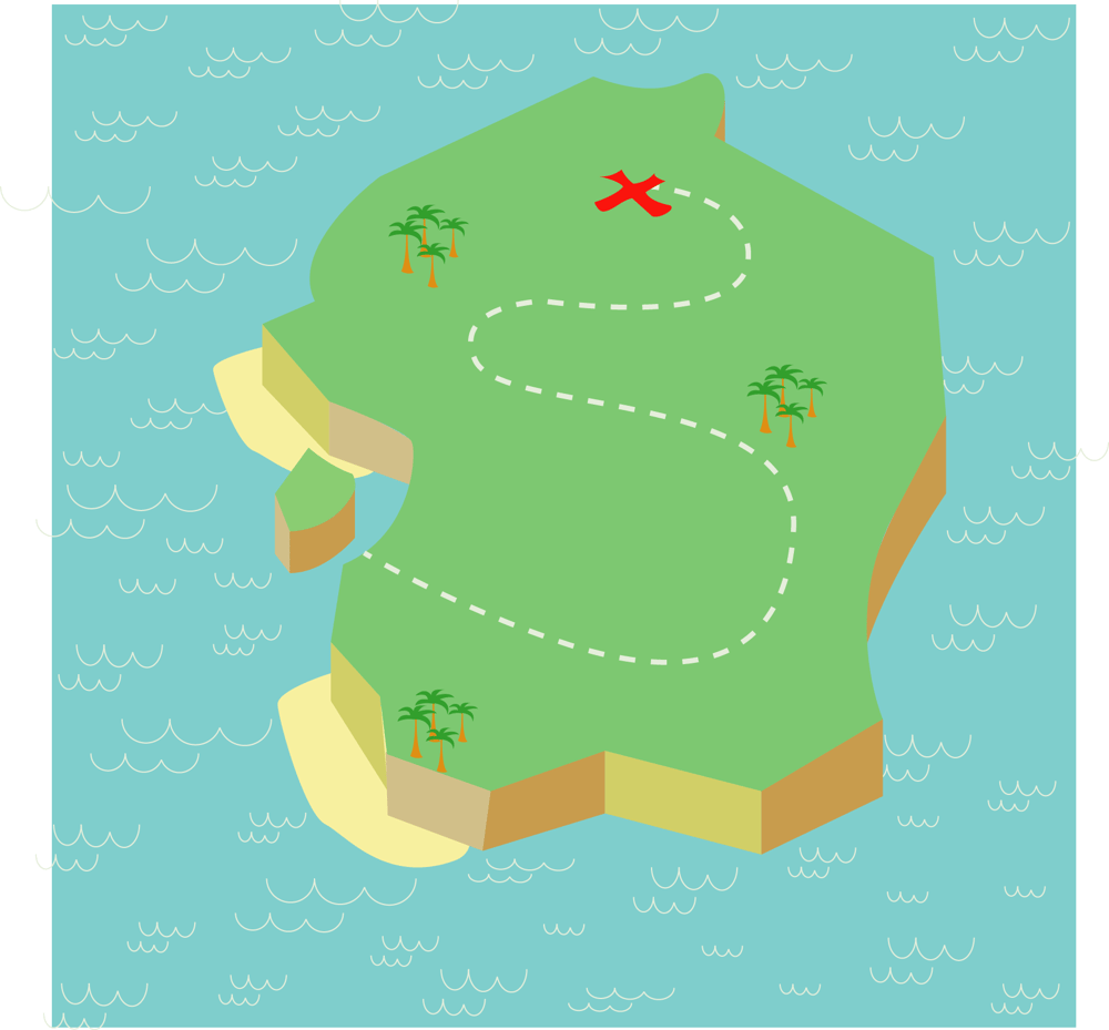 Treasure Map - image 2 - student project