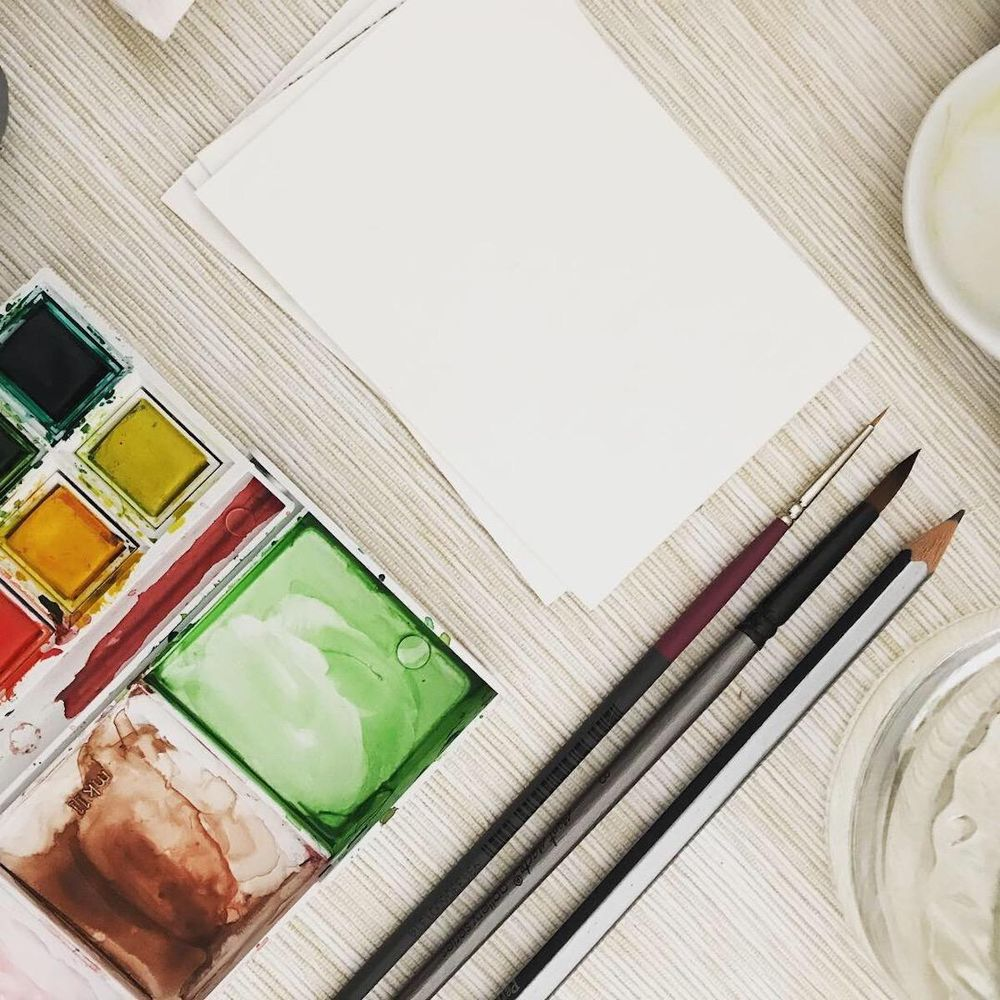 Watercolour painting tools - image 2 - student project