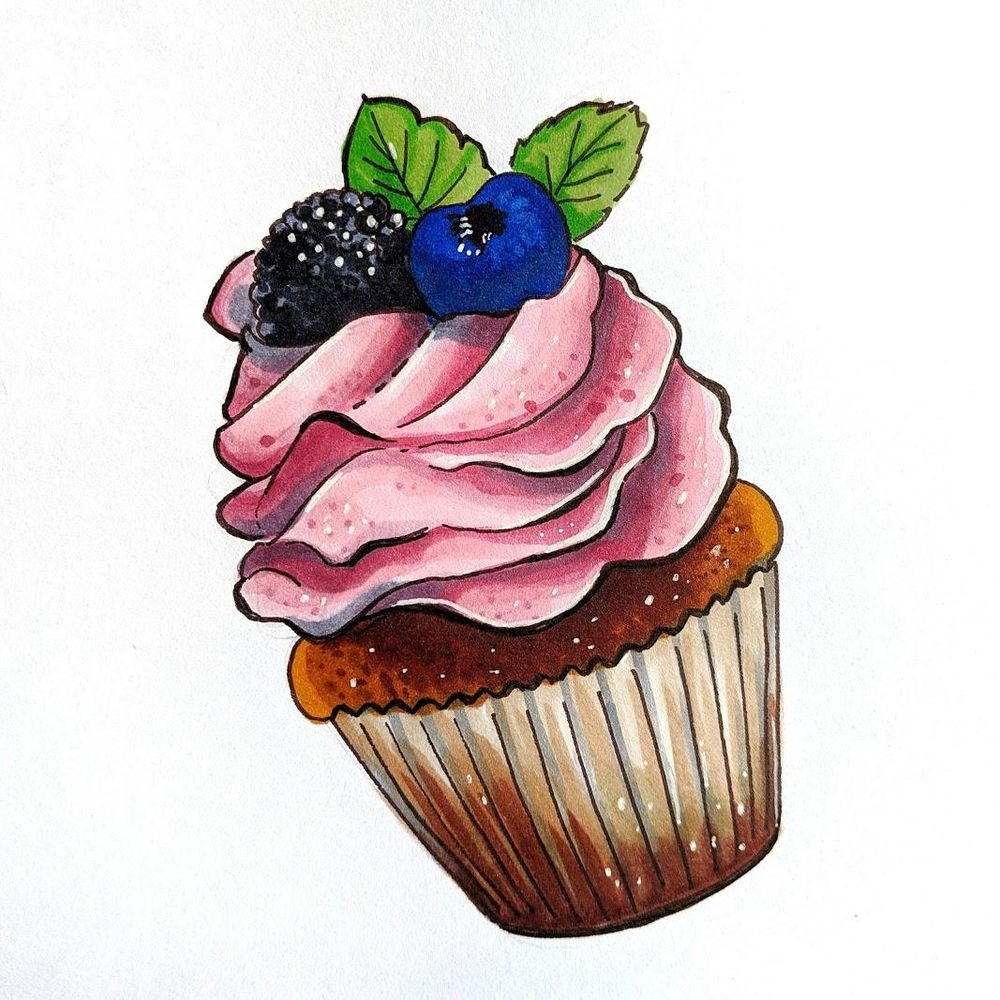 Copic Cupcake - image 1 - student project