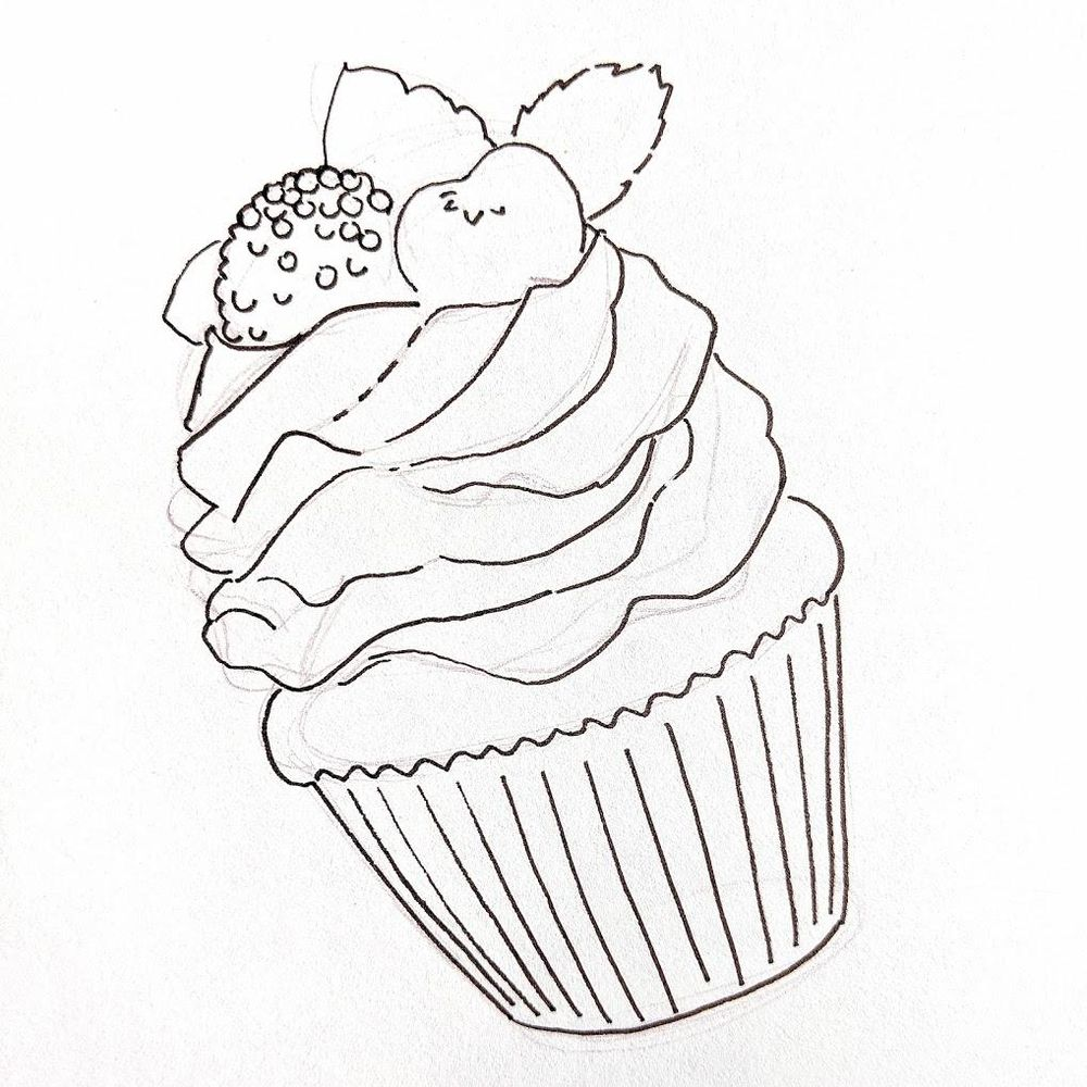 Copic Cupcake - image 2 - student project