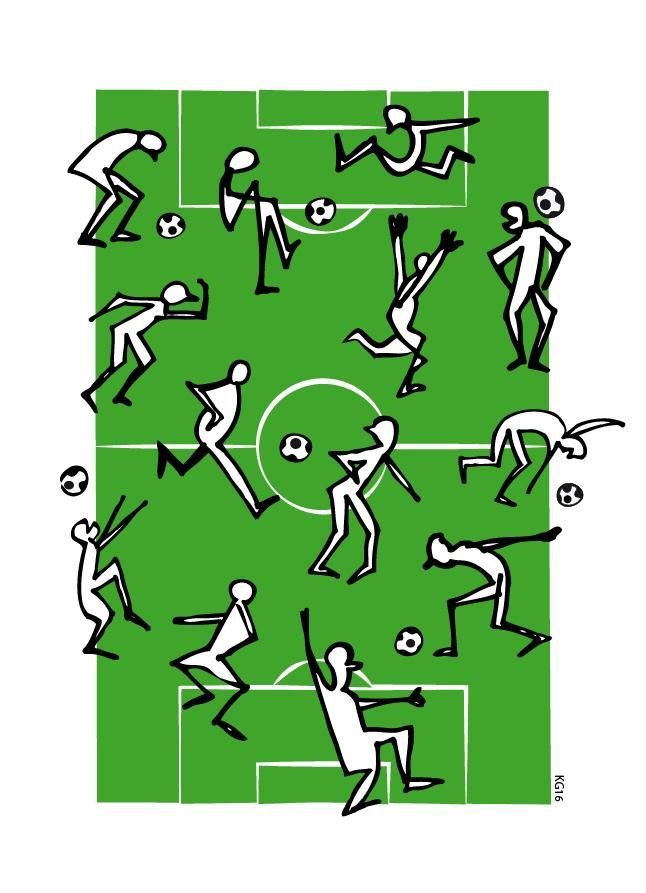 soccer doodling - image 2 - student project