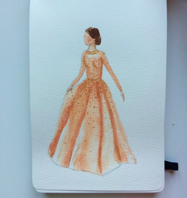 Keira Knightley's gown  - image 2 - student project