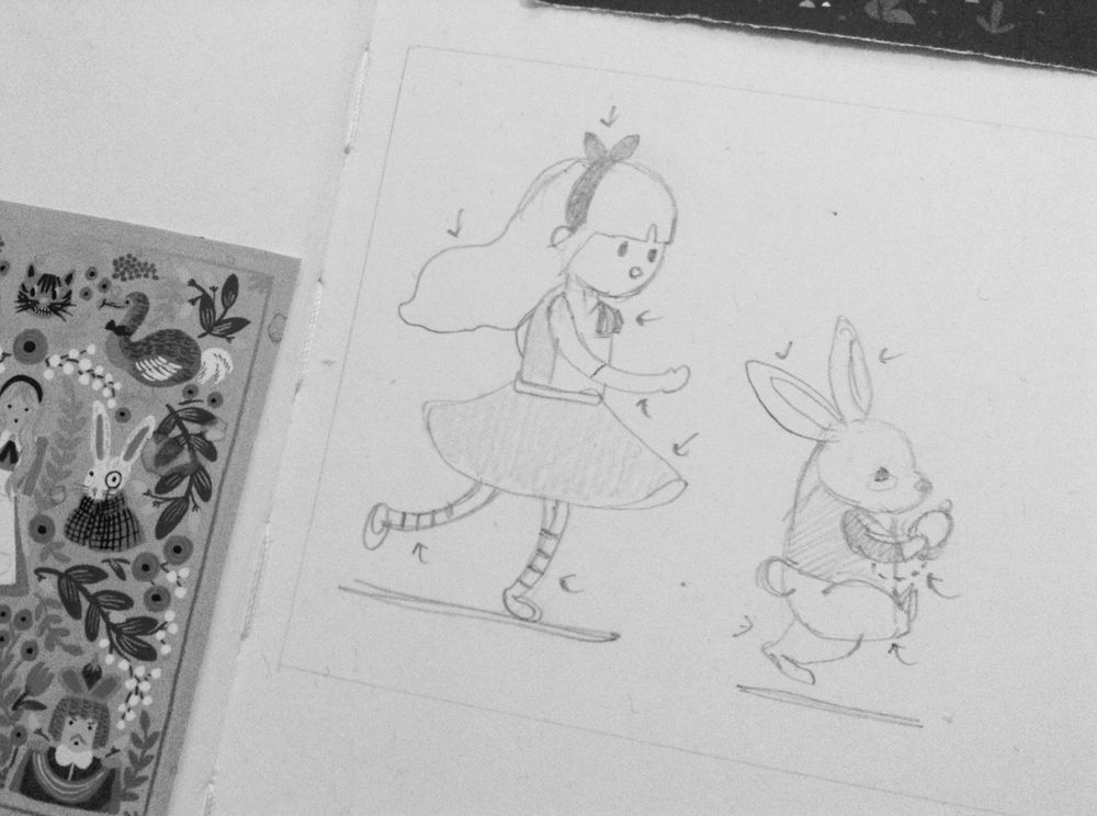 Super satisfying !!! Alice and Mr. Rabbit - image 1 - student project