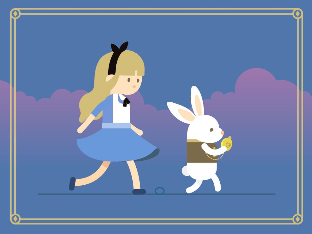 Super satisfying !!! Alice and Mr. Rabbit - image 2 - student project
