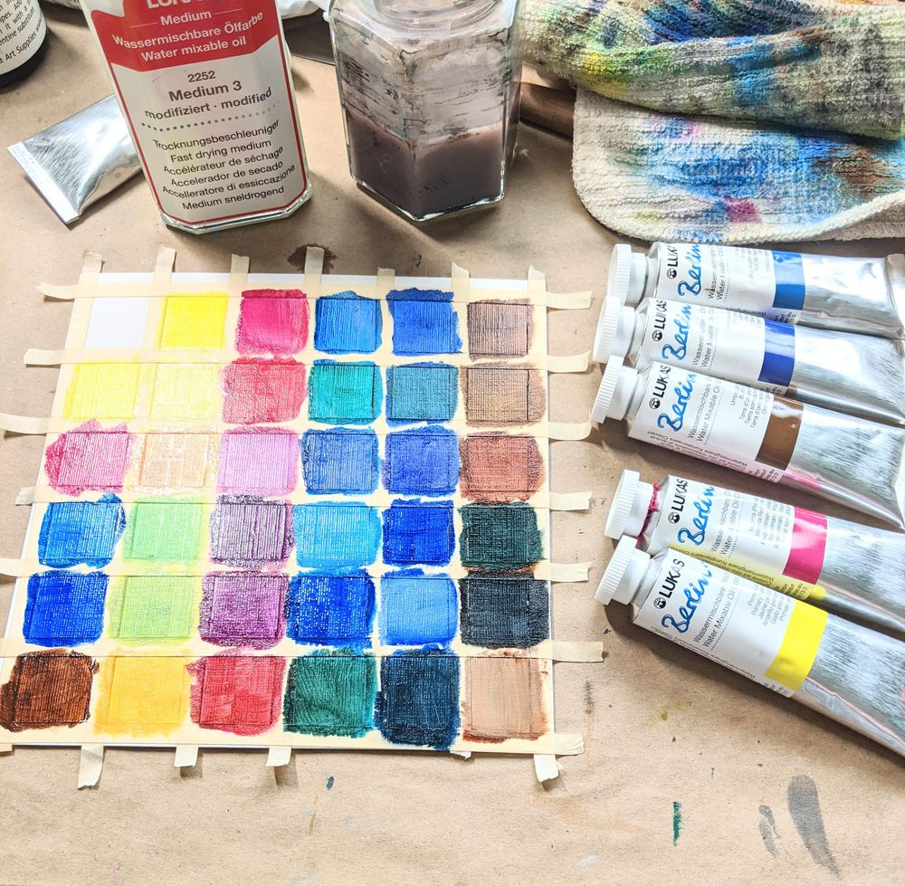 Intro to watersoluable oil. - image 1 - student project