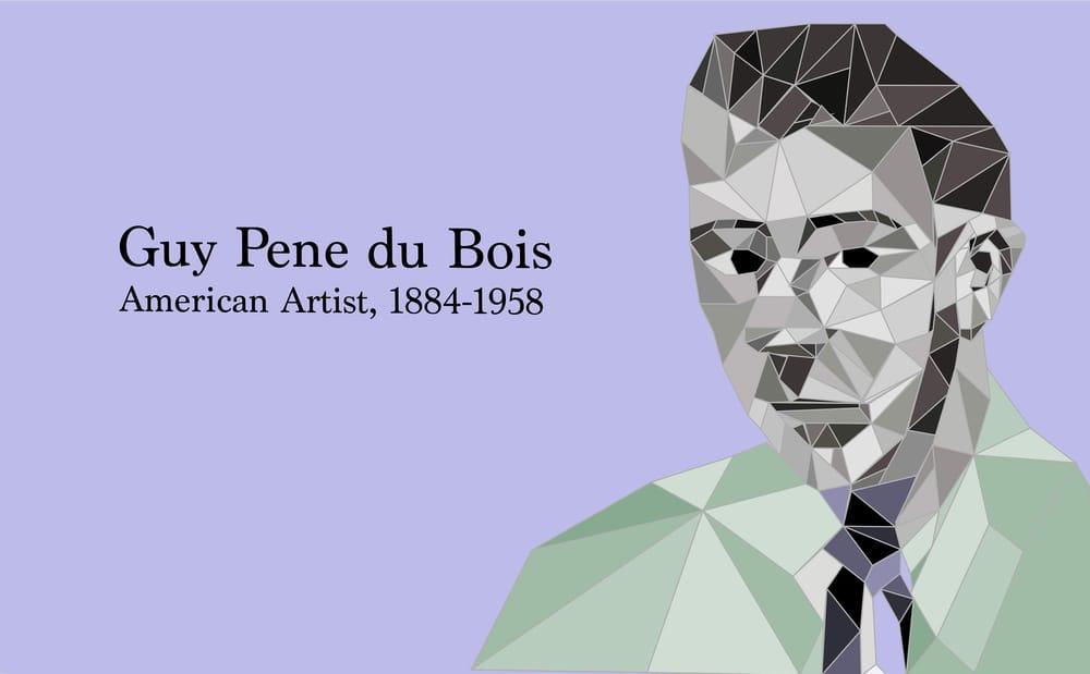 Polygon Portrait - image 1 - student project