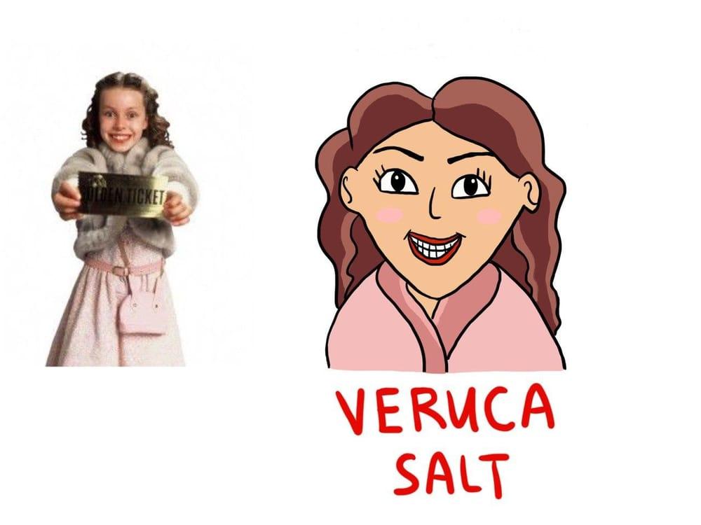 Veruca Salt - image 1 - student project