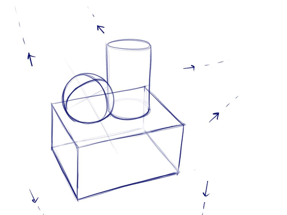 Understanding Volumes in space - image 6 - student project