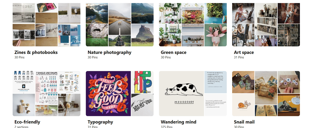 Pinterest - image 2 - student project