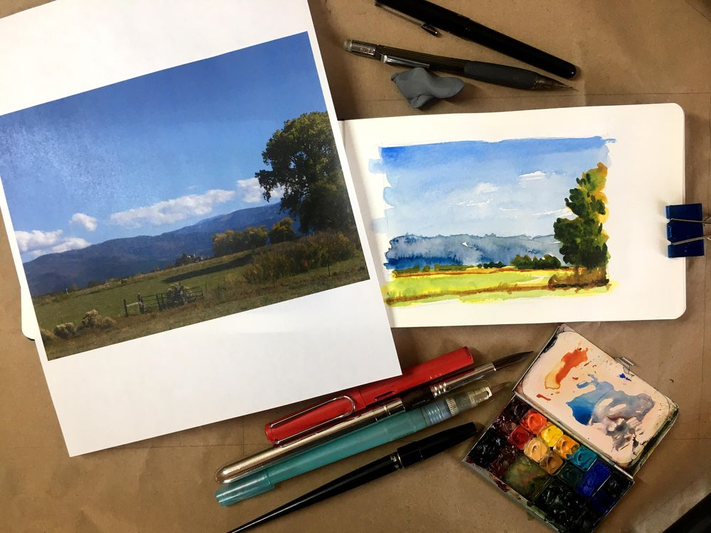 Travel Sketching Project - image 1 - student project