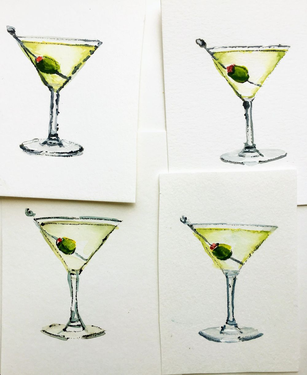 A Set of Martinis - image 1 - student project