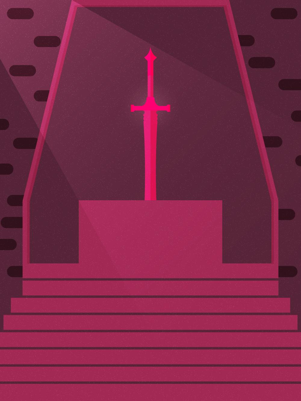 Sword Shrine - image 2 - student project